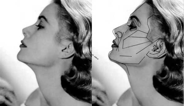 Mask Grace Kelly - Golden Ratio
