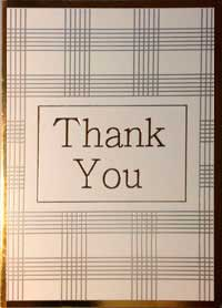 thank you letter - cover