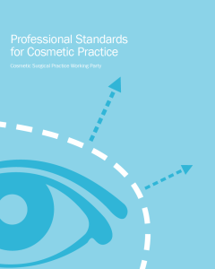 Professional Standards for Cosmetic Practice - image