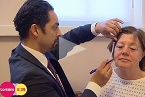 ITV Lorraine Show Featured patient of Dr. Julian De Silva, underwent Natural Face and Neck lifting - video icon