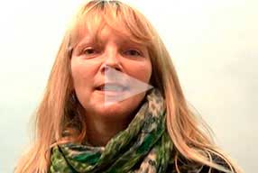 female patient Blepharoplasty Testimonial - youtube video