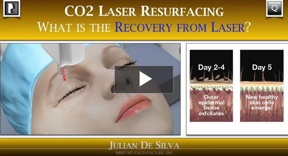 What is the Recovery Time from CO2 Laser Skin Resurfacing?
