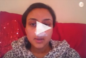 2 Ethnic Rhinoplasty Video Diary Day 1 After surgery - video