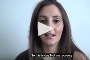 Rhinoplasty Video Diary –Day 9 After surgery, 11 of 18 - video