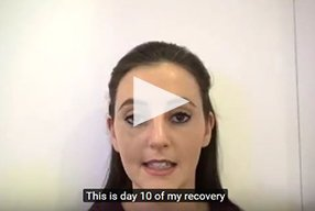 Rhinoplasty Video Diary –Day 10 After surgery, 12 of 18 - video