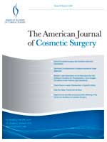 american journal of cosmetic surgery, cover