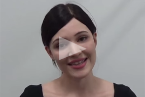 video testimonials female patient Rhinoplasty Review