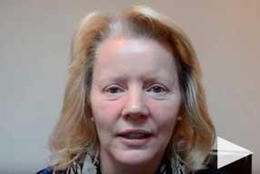 video Testimonial female patient post-op eyelid surgery