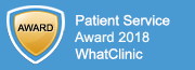 Patient Service Award 2018 WhatClinic