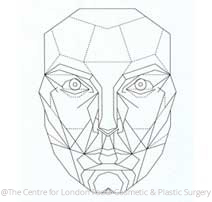 Golden Ratio Face - figure