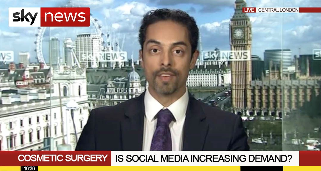 Watch Video: SkyNews interviews Dr. Julian De Silva about Patient Safety in Cosmetic Surgery