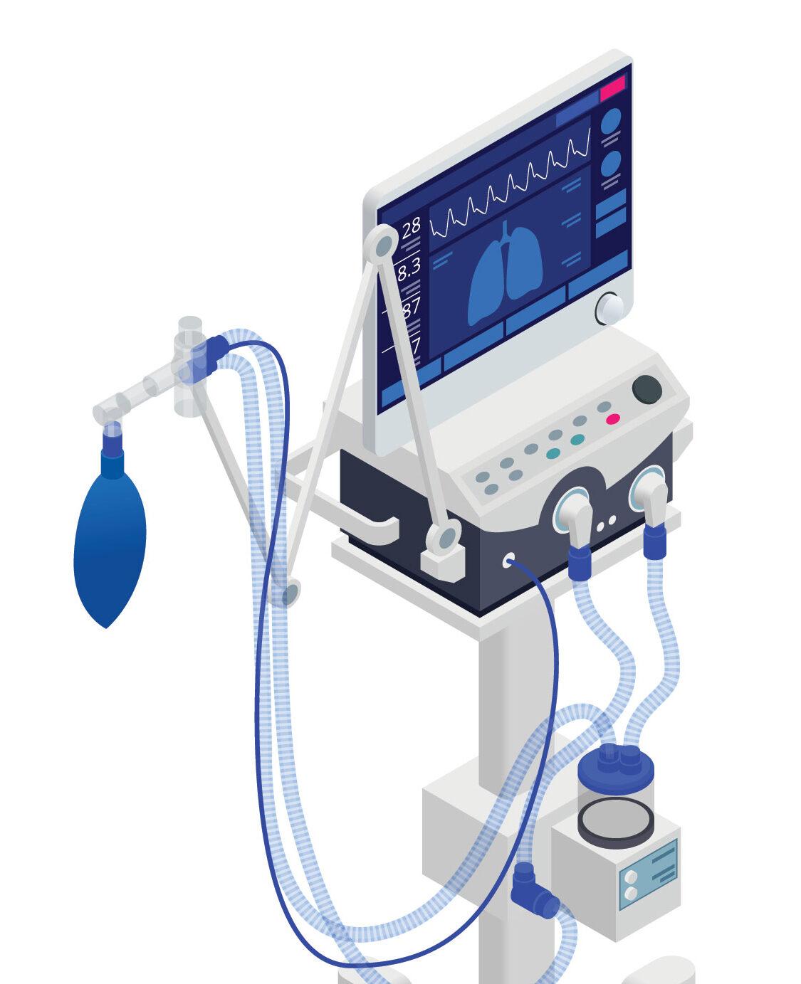 Modern Anaesthesia apparat schema