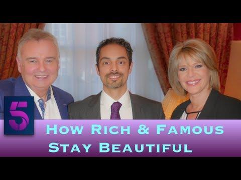 Watch Video: How The Rich & Famous Stay Beautiful, Ch. 5 interview Dr Julian De Silva.