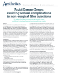 Publications: Dr. De Silva's Journal Article for teaching Clinicians on Advanced Facial Anatomy and Non-Surgical Filler Treatments