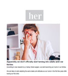 HER: Dr Julian De Silva talks about the the ageing face with Her Magazine