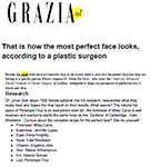 GRAZIA: This is what the perfect face looks like, according to cosmetic surgeon Dr Julian De Silva.