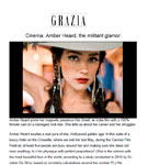 GRAZIA: Dr. Julian De Silva talks with Grazia about Amber Heard's Face