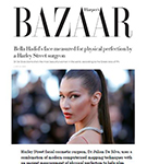HARPER'S BAZAAR: Dr De Silva claims that Bella Hadid has the perfect face according to the Greek ratio of Phi