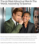 MEDIA: Dr. De Silva featured in SimpleMost.com and discusses about the 10 most attractive men in the world.