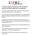 Evoke: Dr De Silva reveals how Posh and Becks would look if they'd aged like 'normal people'