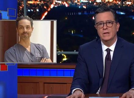 Watch Video: Dr Julian De Silva featured on The Late Show with Stephen Colbert