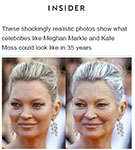 Business Insider: Dr. De Silva featured in Business Insider's article 'These shockingly realistic photos show what celebrities like Meghan Markle and Kate Moss could look like in 35 years'