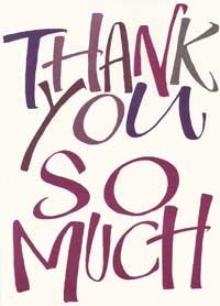 Patient Testimonials: Thank You   patient 26