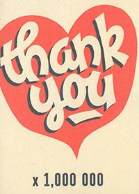 Patient Testimonials: Thank You x 1,000 000   patient 3