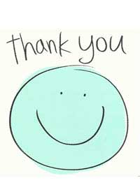 Patient Testimonials: Thank You   patient 41