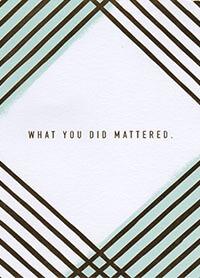 Patient Testimonials: Thank You   patient 67