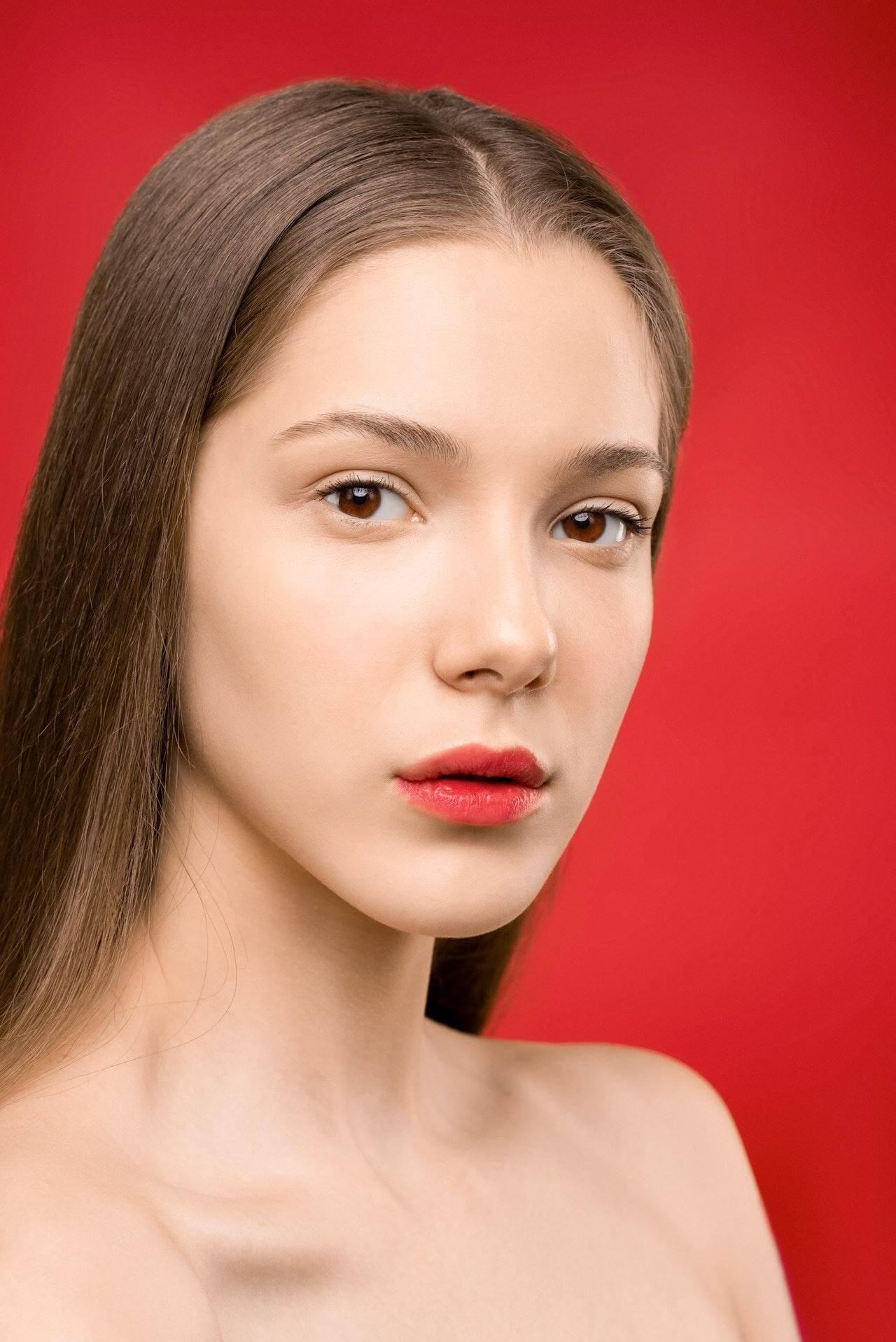 Lower Blepharoplasty - female face