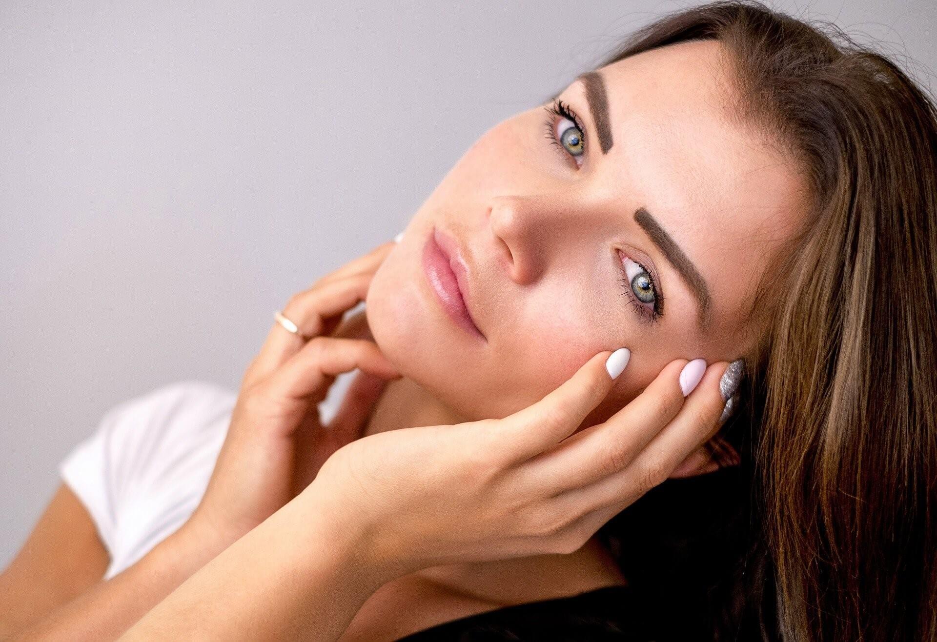 After Eye-lift Surgery - female, photo model