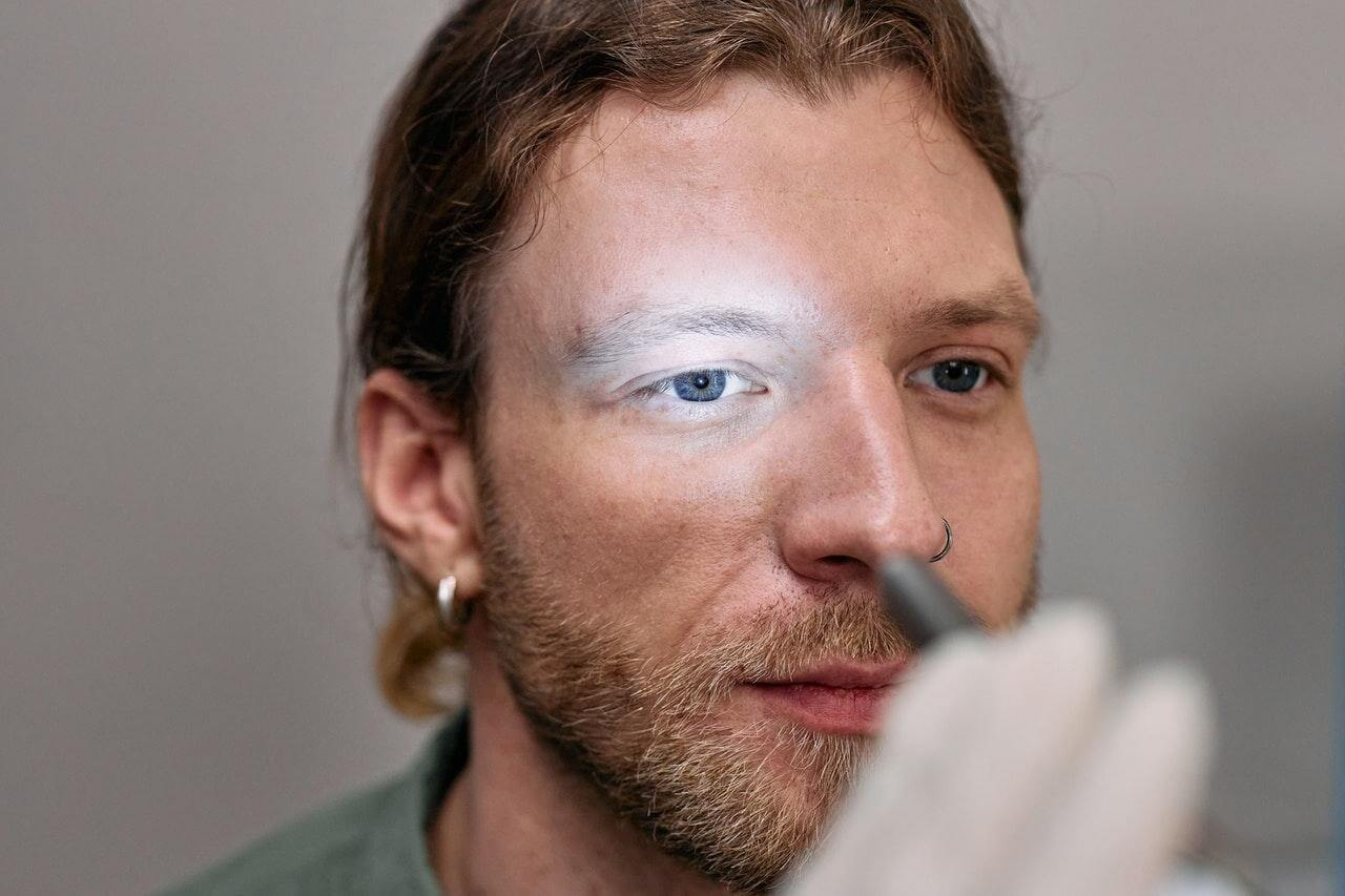 Before Eye-Lift Surgery - male patient